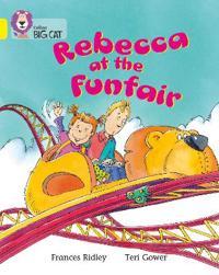 Rebecca at the Funfair