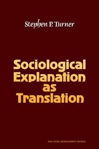 American Sociological Association Rose Monographs