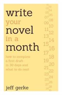 Write Your Novel in a Month