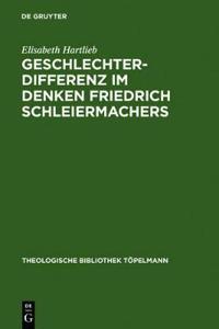 Geschlechterdifferenz im Denken Friedrich