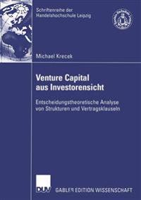 Venture Capital Aus Investorensicht