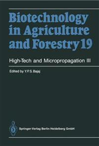 High-Tech and Micropropagation III