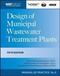 Design of Municipal Wastewater Treatment Plants