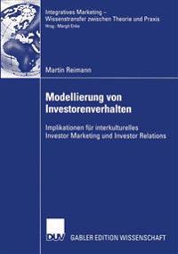 Modellierung Von Investorenverhalten