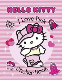 I Love Pink Sticker Book