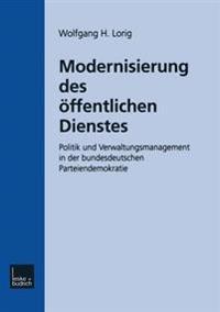 Modernisierung Des Öffentlichen Dienstes
