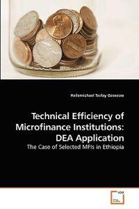 Technical Efficiency of Microfinance Institutions