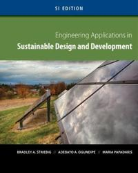 International Mindtap Engineering Instant Access for Striebig/Ogundipe/papadakis' Engineering Applications in Sustainable Design and Development