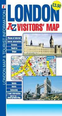 London Geographers A Z Map Company Kartta Viikattu