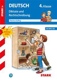 Training Grundschule - Deutsch Diktat 4. Klasse, mit CD