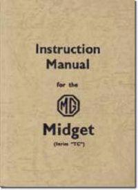 Mg Midget Tf & Tf 1500 Service Book