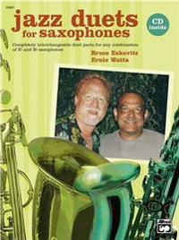 Jazz Duets for Saxophones: Book & CD