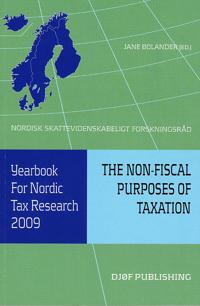 Yearbook for Nordic Tax Research 2009