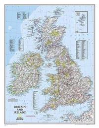 Britain and Ireland Classic [Laminated]