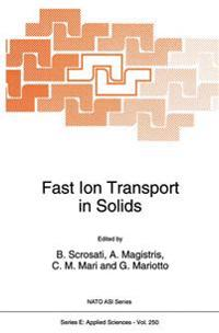 Fast Ion Transport in Solids
