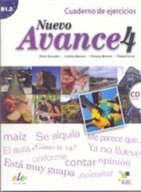 Nuevo Avance 4 Exercises Book + CD B1.2