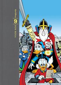 Don Rosas samlade verk : tecknade serier och illustrationer. Bd 9, 2002-2007
