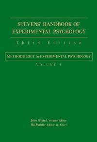 Stevens' Handbook of Experimental Psychology, Methodology in Experimental Psychology