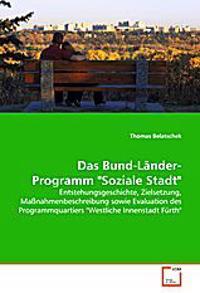 """Das Bund-Länder-Programm """"Soziale Stadt"""""""