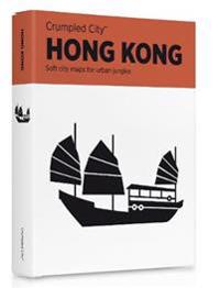 Hong Kong Crumpled City Map