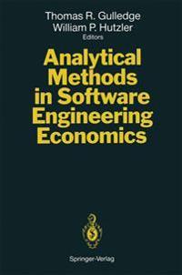 Analytical Methods in Software Engineering Economics