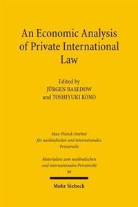 An Economic Analysis of Private International Law