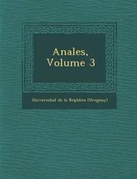Anales, Volume 3