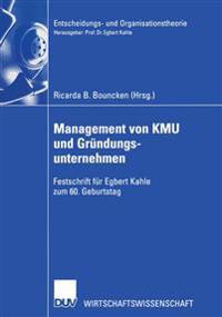 Management Von Kmu Und Grundungsunternehmen