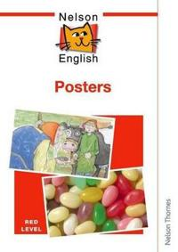 Nelson English Poster Pack Red Level