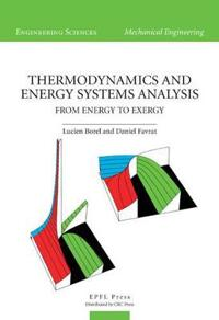 Thermodynamics and Energy Systems Anlaysis