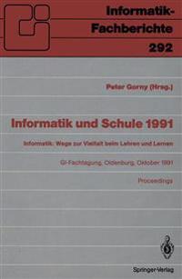 Informatik Und Schule 1991