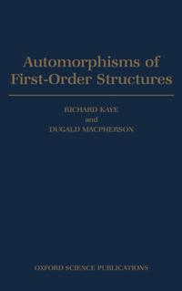 Automorphisms of First-Order Structures