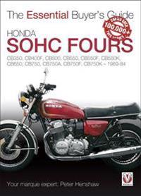 Honda SOHC Fours: CB350, CB400F, CB500, CB550, CB550K, CB650, CB750, CB750F, CB750K - 1969-84