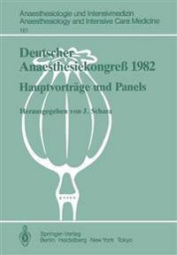Deutscher Anaesthesiekongress 1982 Freie Vortrage