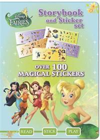 Disney Fairies Sticker Storybook Set
