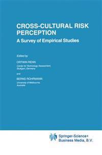 Cross-Cultural Risk Perception