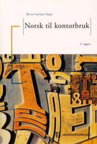 Norsk til kontorbruk