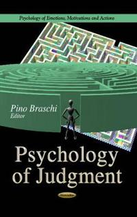Psychology of Judgment