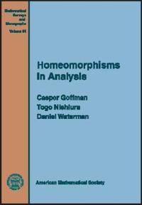 Homeomorphisms in Analysis