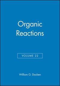 Organic Reactions, Volume 22,