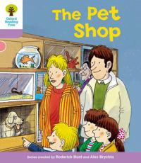 Oxford Reading Tree: Level 1+: Patterned Stories: Pet Shop
