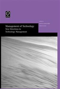 Managment of Technology New Directions in Technology Management