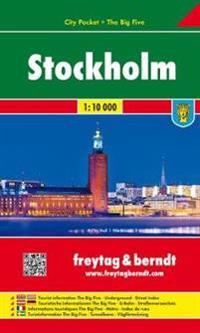 Stockholm 1 : 10 000 City Pocket + The Big Five