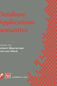 Database Applications Semantics