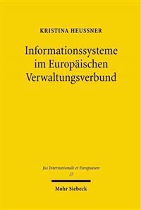Informationssysteme Im Europaischen Verwaltungsverbund