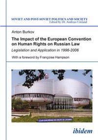 The Impact of the European Convention on Human Rights on Russian Law.