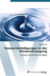 Konzernbeteiligungen in Der Wasserversorgung