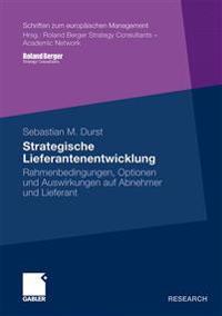 Strategische Liefurantenentwicklung