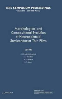 Morphological and Compositional Evolution of Heteroepitaxial Semiconductor Thin Films