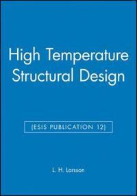 High Temperature Structural Design Esis Publication 12